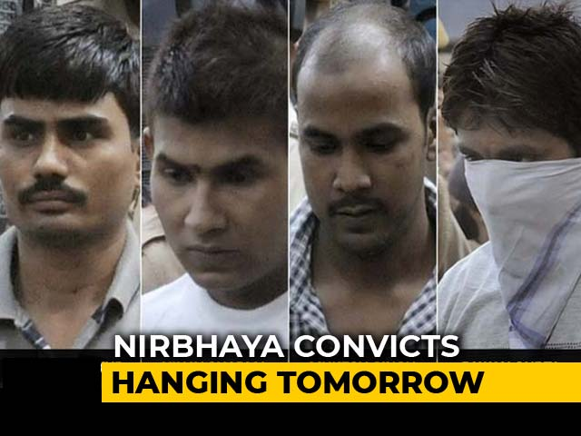 Video : Delhi Court Refuses To Put On Hold Nirbhaya Convicts' Execution Tomorrow