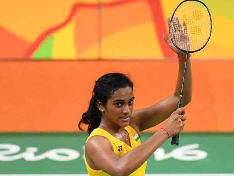 PV Sindhu participates in World fitness program on the Olympic day