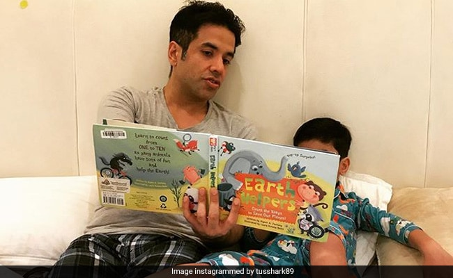 How Tusshar Kapoor And Son Laksshya Are 'Making A Small Change For Our Planet'