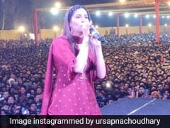 सपना चौधरी ने धमाकेदार डांस से फैन्स को किया हैरान, देसी क्वीन का Video हुआ वायरल