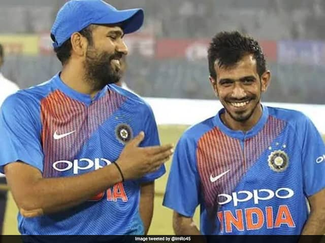 "Coronavirus: Rohit Sharma Tells Yuzvendra Chahal Well Talk About IPL When ""Life Gets Back To Normal"""