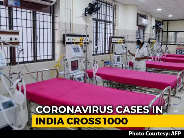Video : Coronavirus Cases In India Cross 1,000-Mark, 27 Dead