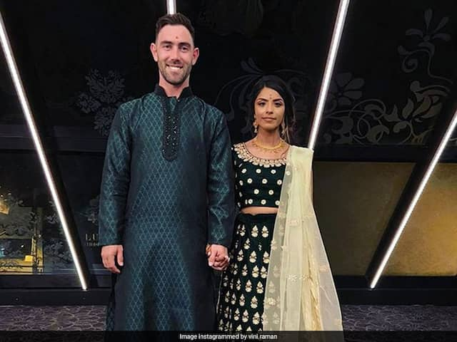 Glenn Maxwell Wears Ethnic Indian For Engagement To Vini Raman. See Pics