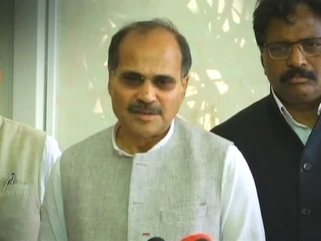 Video : Congress Leader Adhir Ranjan Chowdhury's Office Vandalised, Staff Abused