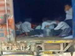 Maharashtra Cops Opened 2 Container Trucks, Found Over 300 Migrant Workers