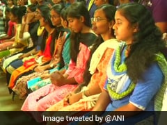 80 College Girls Donate Hair For Cancer Patients In Tamil Nadu