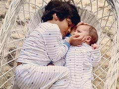 This Pic Of Lisa Haydon's Sons Zack And Leo Will Melt Your Heart