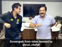 युजवेंद्र चहल ने डांस करते हुए पापा से कही ऐसी बात, पीटने के लिए दौड़े पीछे... एक करोड़ बार देखा गया Video