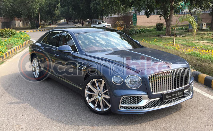 India's First 2020 Bentley Flying Spur W12 Delivered In Ahmedabad