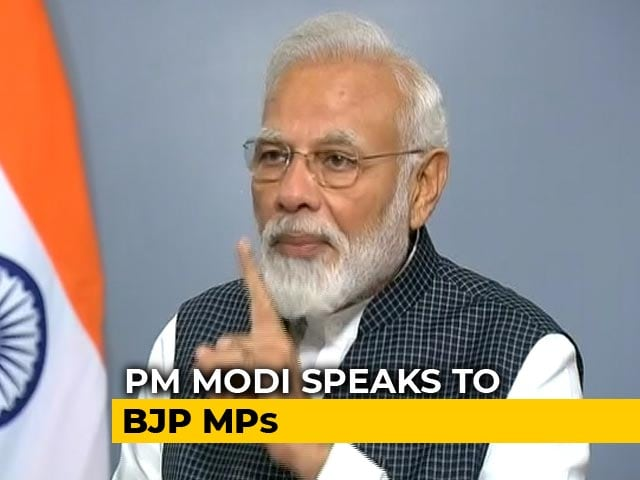 """Video : """"MPs Should Ensure Peace, Unity"""": PM At BJP Meet Days After Delhi Clashes"""