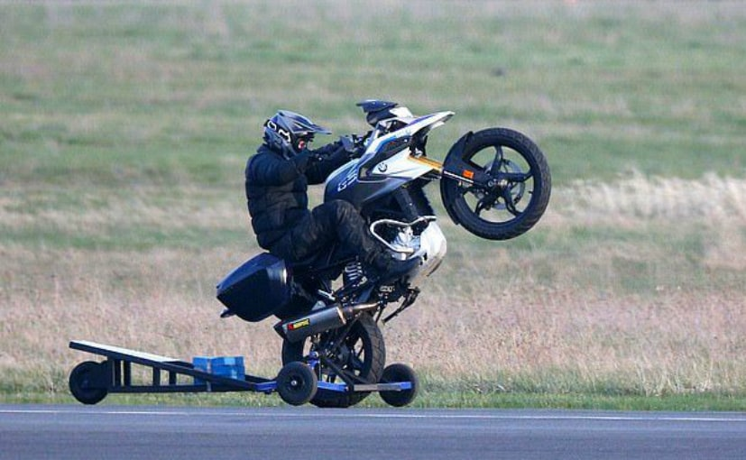 Tom Cruise spotted pulling wheelies on BMW G 310 GS on sets of upcoming MI7