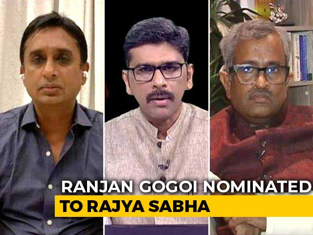 Video : Controversy Over Ranjan Gogoi's Nomination To Rajya Sabha