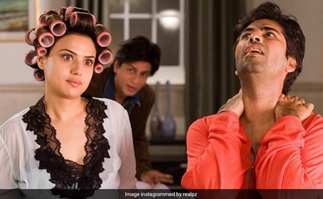 Everything About This Film Set Pic Of Preity Zinta, Shah Rukh Khan And Karan Johar Is ROFL