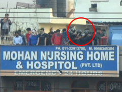 New Video Of Delhi Clashes Shows Firing On Crowd From Hospital Rooftop