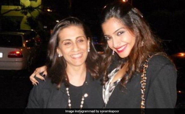 Sonam Kapoor Sends Love From Delhi On Mom Sunita Kapoor's Birthday