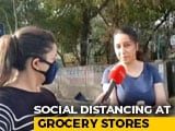 Video : Coronavirus Lockdown: Social Distancing Practiced At Delhi Shops