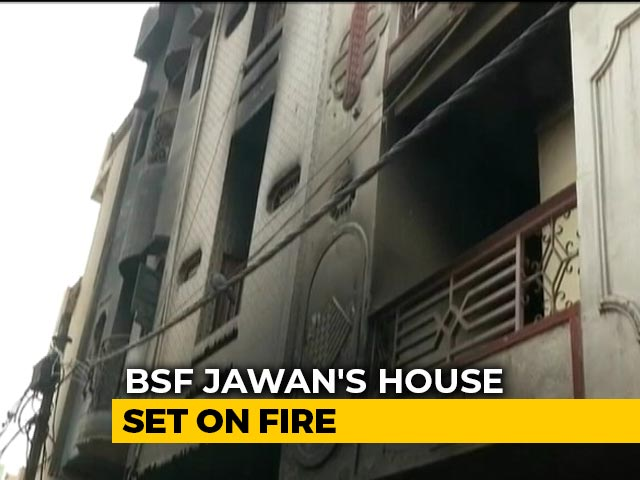 Video : BSF Offers To Repair Trooper's Home Set Ablaze During Delhi Violence