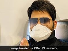 कपिल शर्मा को हुआ कोरोनावायरस का डर, मास्क लगाकर प्लेन में पहुंचे कॉमेडी किंग, बोले- सावधानी में ही...