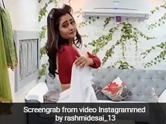 रश्मि देसाई ने सफेद साड़ी में 'रंग बरसे भीगे चुनर वाली' पर यूं झूमकर किया डांस, बार-बार देखा जा रहा Video