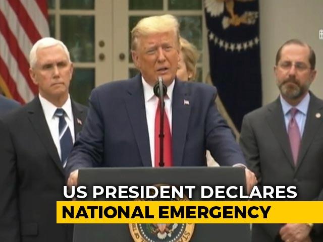 Video : Coronavirus: Donald Trump Declares National Emergency In US