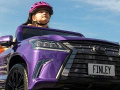 Lexus Builds LX Convertible Toy Car For Children With Cerebral Palsy