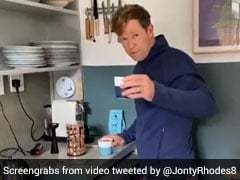 "Watch: Jonty Rhodes Shares Recipe Of ""Bullet Coffee"" Amid Coronavirus Lockdown"