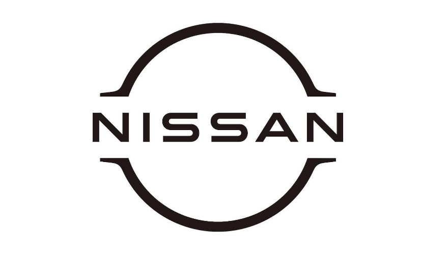 The new Nissan logo gets a 2D monochromatic design, moving away from the earlier 3D logo