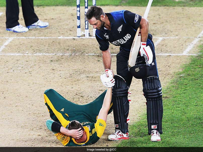 Moments To Remember From ICC World Cup 2015 Semi-Final Between New Zealand And South Africa