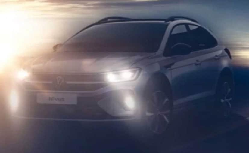 Volkswagen Nivus Subcompact Crossover Teaser Reveals Design