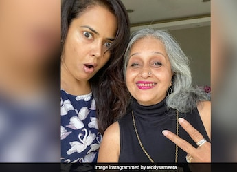 Sameera Reddy And Mom-In-Law Get Cooking With Two Yummy Recipes