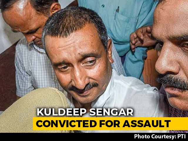 Video : Ex-BJP MLA Kuldeep Sengar Convicted For Assault On Rape Survivor's Father