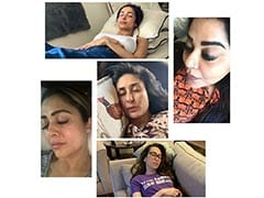 <I>Jab</i> They Slept: Kareena Kapoor Napping With Karisma And Besties Is All Sorts Of Goals