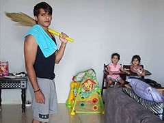 Trending: How Karanvir Bohra Is Helping Wife Teejay Sidhu With The Household Chores