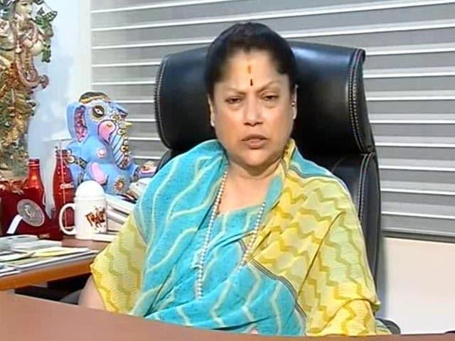 "Video : ""Good Aunt-Nephew Combination"": Yashodhara Raje Scindia On Jyotiraditya Scindia"