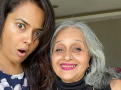 "Trending: Sameera Reddy's ""Flip The Switch"" Challenge With ""<I>Asli</i> Gangster"" - Her Mom-In-Law"