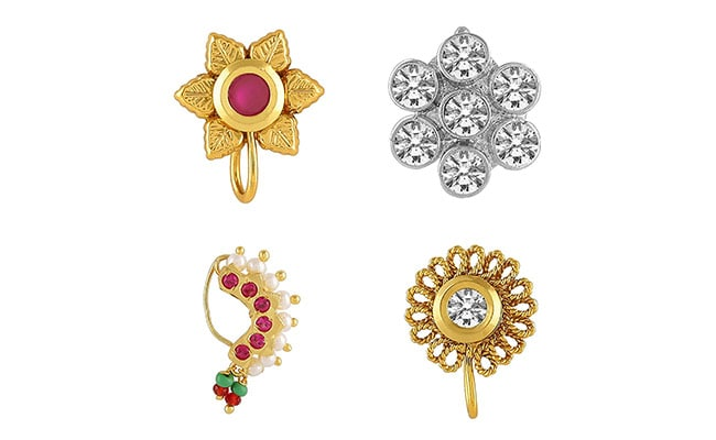 Spunk Up Your Ethnic Looks With These Statement Nose Pins