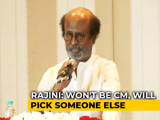 Video : Rajinikanth Is The Biggest Political Suspense From South India