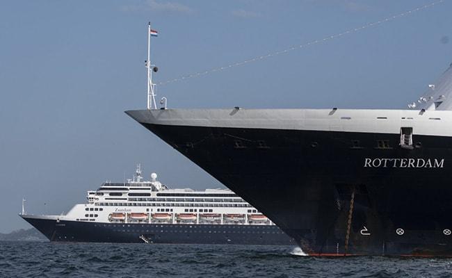 Passengers Transferred From Coronavirus-Stricken Cruise Ship Off Panama