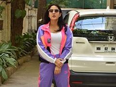 Make Athleisure More Fun Like Sara Ali Khan In A Trendy Tracksuit
