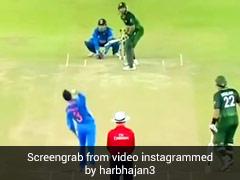 हरभजन सिंह ने रहस्यमयी गेंद डालकर किया अफरीदी को आउट, फिर मनाया था ऐसे जश्न, देखें पूरा Video