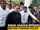 Video : Cops Question Kamal Haasan In Probe Into Film Set Accident That Killed 3