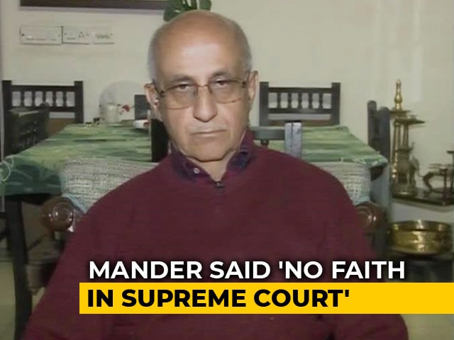 Video : Chief Justice Seeks Text Of Activist Allegedly Saying No Faith In Court