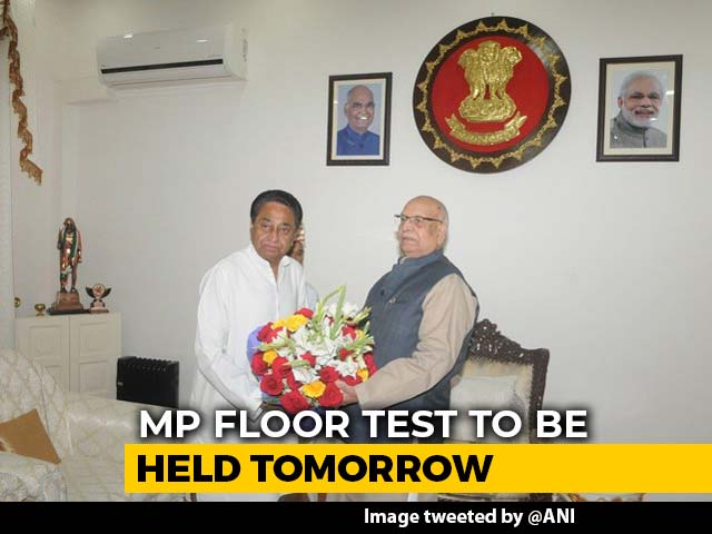 Video : Madhya Pradesh Governor Asks Speaker To Hold Floor Test Tomorrow