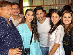 Inside Sara Ali Khan And Varun Dhawan's <I>Coolie No 1</I> Wrap-Up Party With Karisma Kapoor And Others