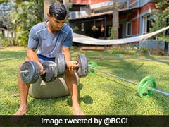 Mayank Agarwal, R Sridhar Give Fans Fitness Goals From Home