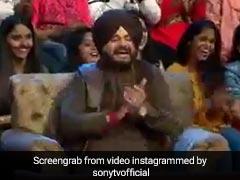 कपिल शर्मा के शो में फिर दिखे नवजोत सिंह सिद्धू, यूं ठहाके लगाते आए नजर... देखें Video