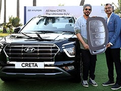 Shah Rukh Khan Becomes The First Owner Of 2020 Hyundai Creta; Deliveries Begin
