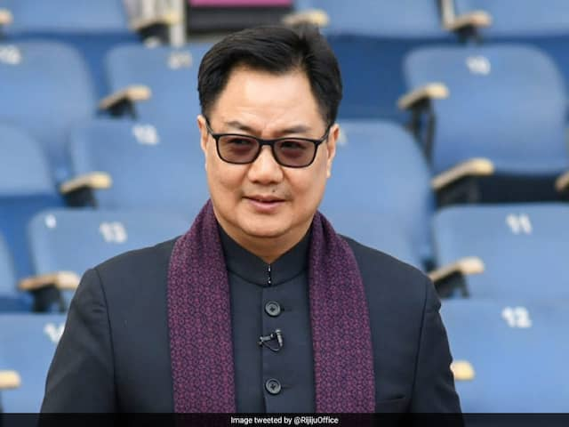 All Sports Events, Training Centres To Remain Closed Till April 15: Kiren Rijiju