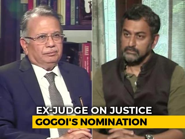 "Video : ""Quid Pro Quo"": Retired Judge On Rajya Sabha Nomination For Justice Gogoi"