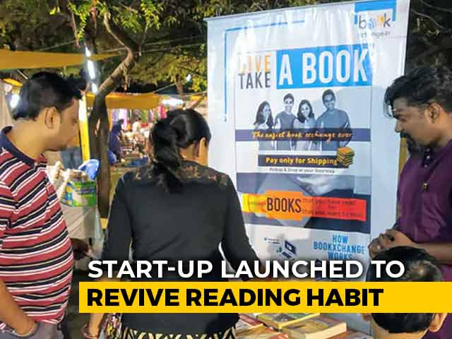 Video : Give A Book, Take A Book - Chennai Start-Up's Bid To Revive Reading